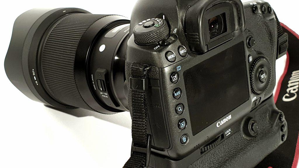 Mietbare hochauflösende Kamera Canon 5ds-r